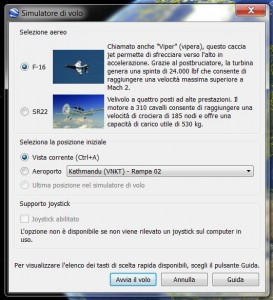 In volo con Googleearth